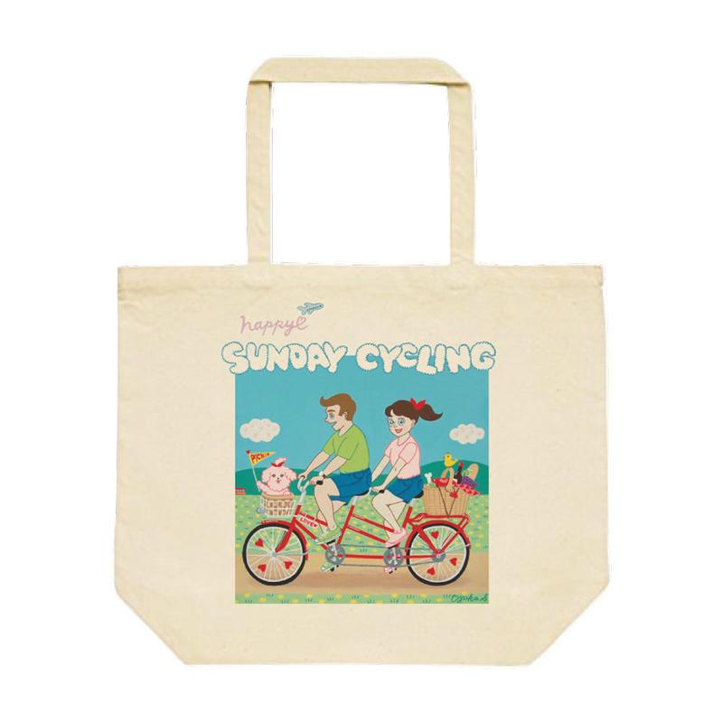 AYAKA_SAKURANBO『サイクリング』トートバッグL