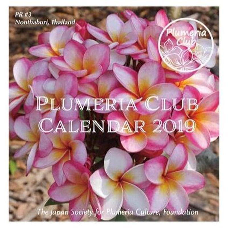 Calendar 2019 -Plumerias in the World (Compact Desk Calendar)