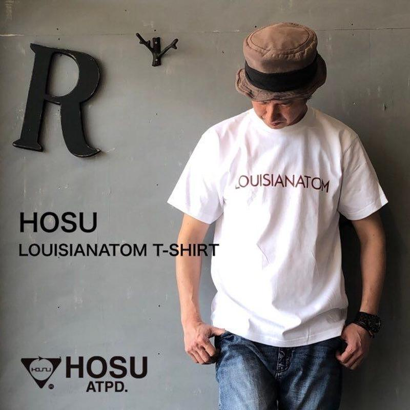 "HOSU. ATPD ""LOUISIANATOM T-SHIRT"" White"