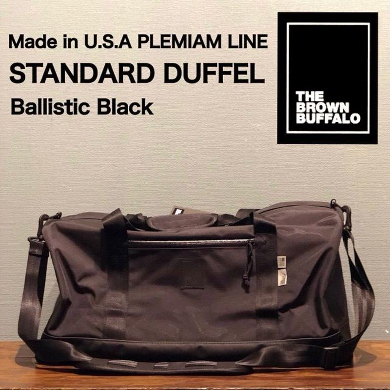 "THE BROWN BUFFALO ""STANDARD DUFFEL"" Ballistic Black"