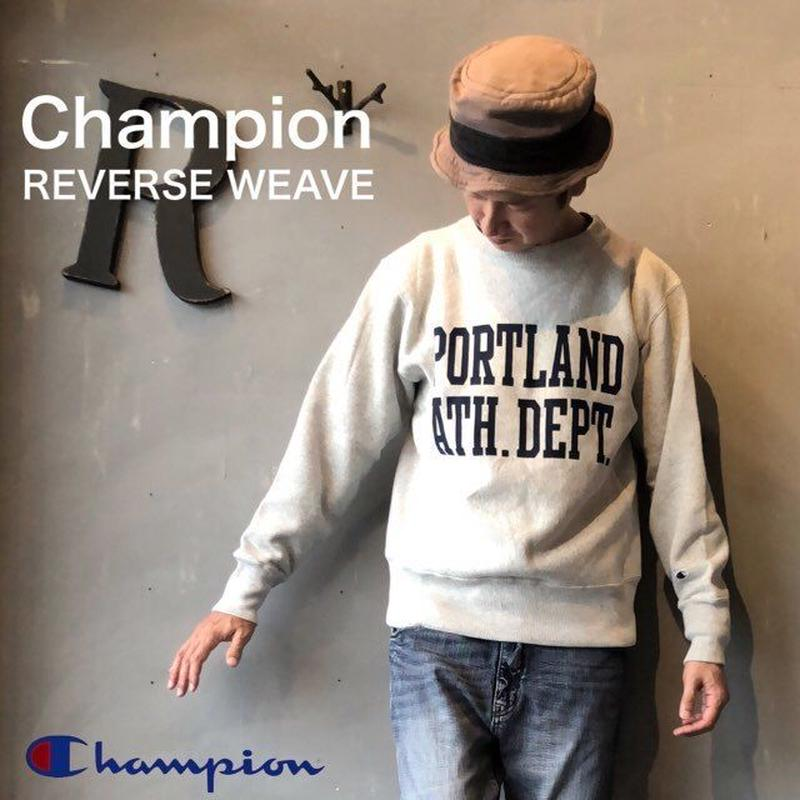 "Champion ""REVERSE WEAVE® 11.5oz CREW NECK SWEAT"" Sl.Gray"