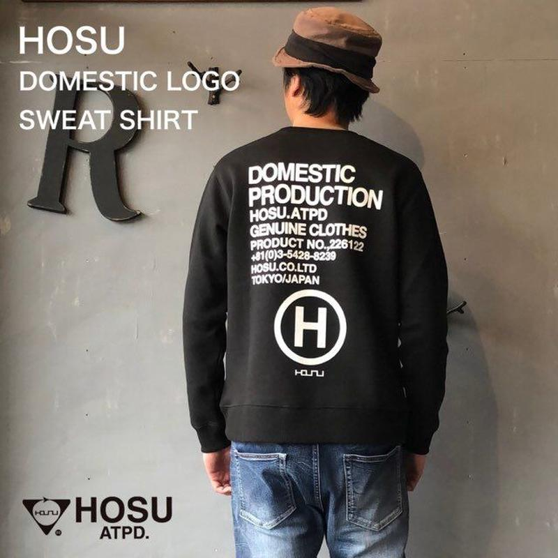 "HOSU. ATPD ""DOMESTIC LOGO SWEAT SHIRT"""