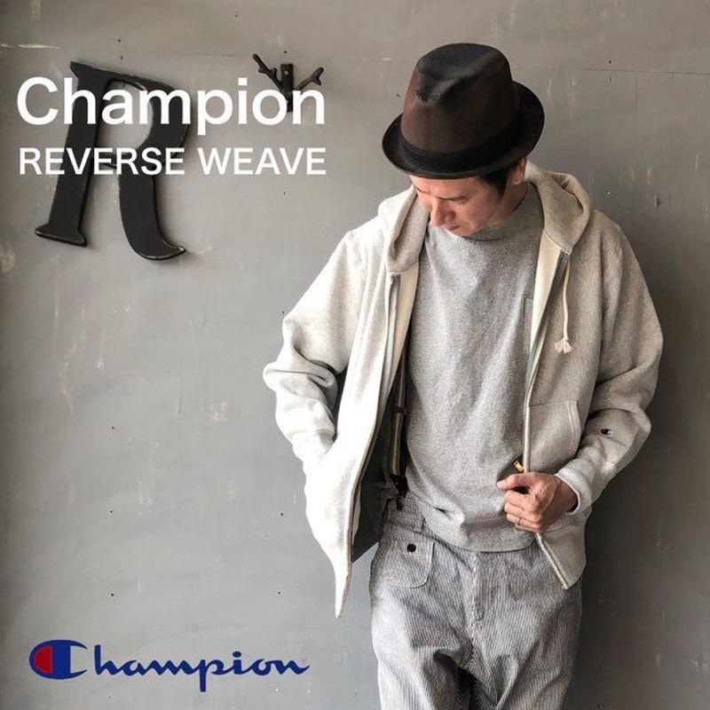 "Champion ""REVERSE WEAVE® 11.5oz ZIP HOODED SWEAT"" Sl.Gray"