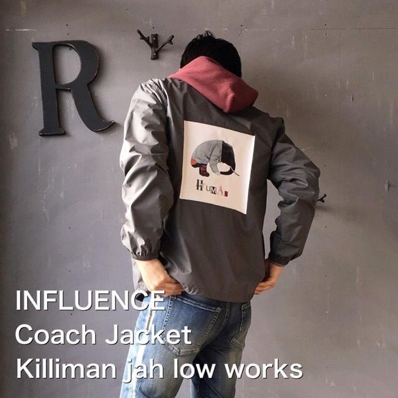 "Influence ""Coach Jacket"" Killiman jah low works"