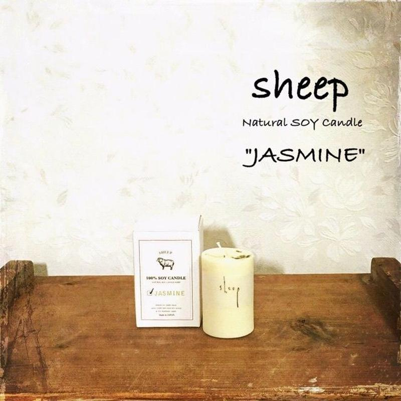 sheep SOY CANDLE jasmine SS