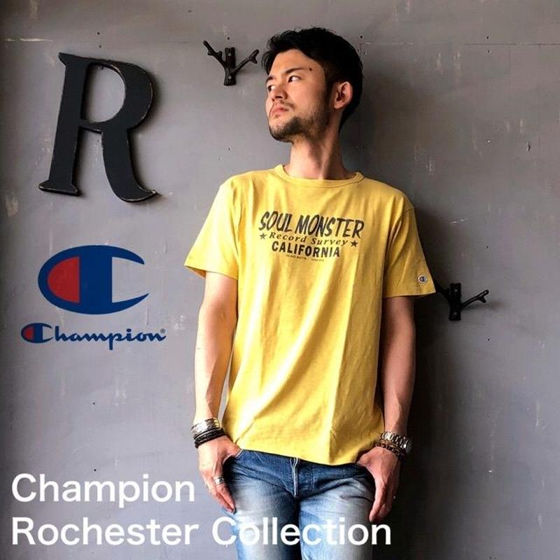 "Champion Rochester Collection ""PRINT T-SHIRT"" R.Yellow"