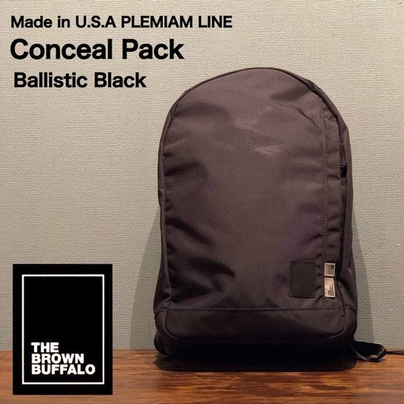 "THE BROWN BUFFALO ""Conceal Pack"" Ballistic Black"