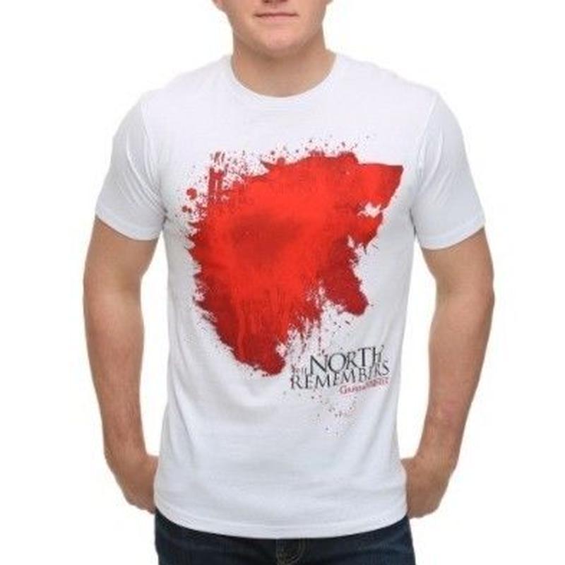 【USA直輸入】ゲームオブスローンズ Tシャツ Sサイズ ウィンターフェル スターク ゲーム・オブ・スローンズ GOT