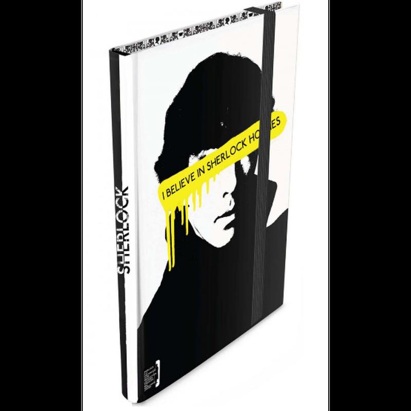 【USA直輸入】SHERLOCK シャーロック モリアーティ ミニ ジャーナル  I Believe in Sherlock ノート カンバーバッチ BBC 221B ベーカーストリート