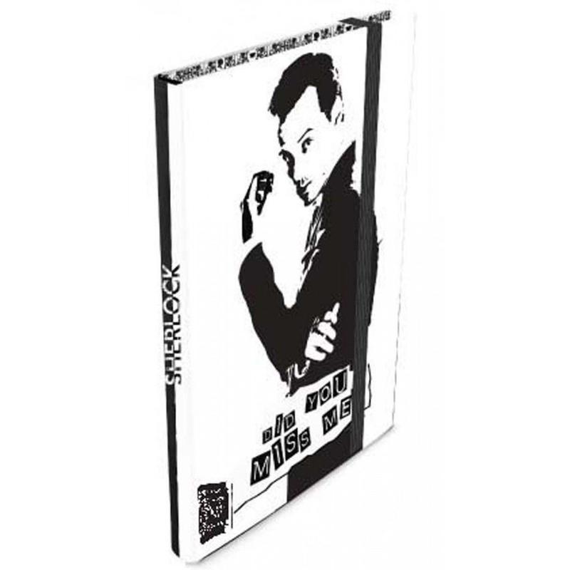 【USA直輸入】SHERLOCK シャーロック モリアーティ ジャーナル Did You Miss Me  ノート カンバーバッチ BBC 221B ベーカーストリート