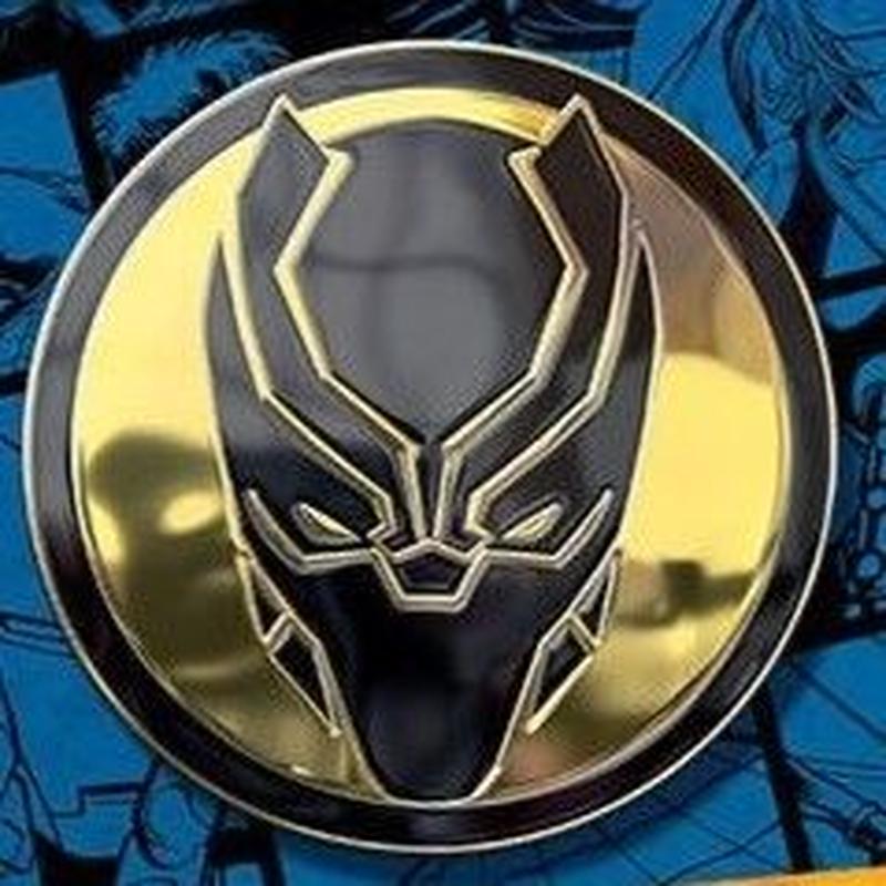 【USA直輸入】 MARVEL ブラックパンサー フェイス ブラック シンボル エナメル ロゴ ピン マーベル ピンズ ピンバッジ Black Panther  ワカンダ