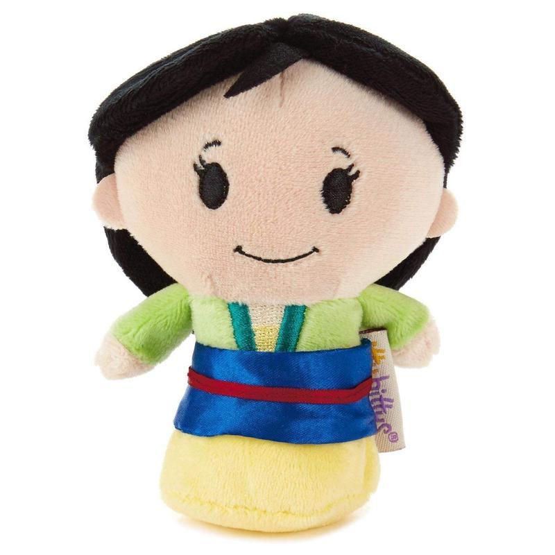【USA直輸入】ディズニー ムーラン  ぬいぐるみ ittybittys 約10cm hallmark