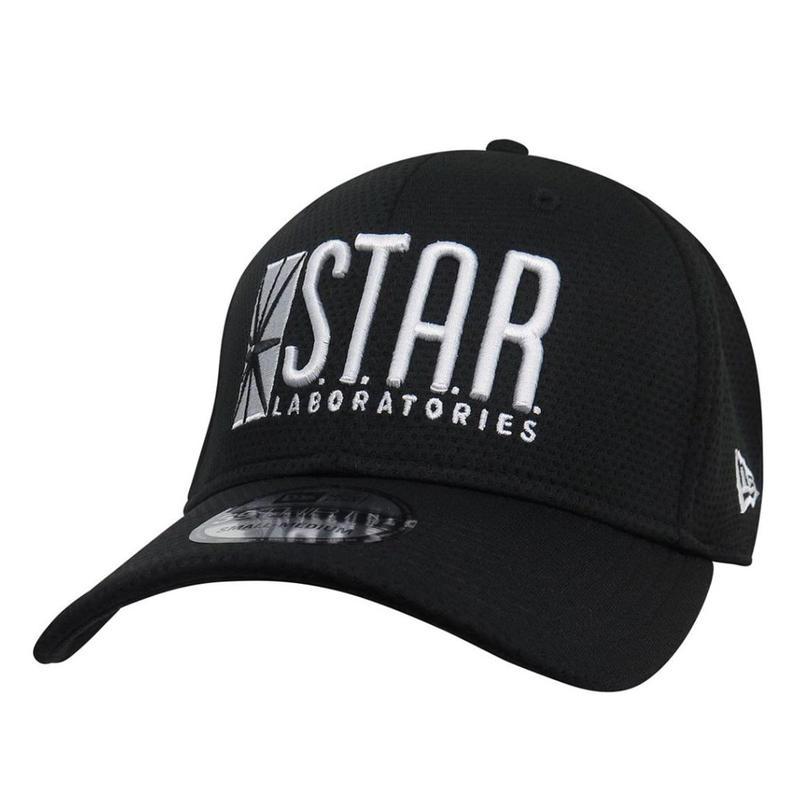 【USA直輸入】DC  スターラボ ロゴ キャップ  39Thirty Fitted ニューエラ NEWERA ベースボール キャップ 帽子 DCコミックス フラッシュ FLASH