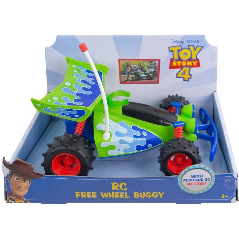 【USA直輸入】DISNEY  トイストーリー RCバギー フリーホイール フィギュア ムービーサイズ Toy Story  ディズニー RC トイストーリー4