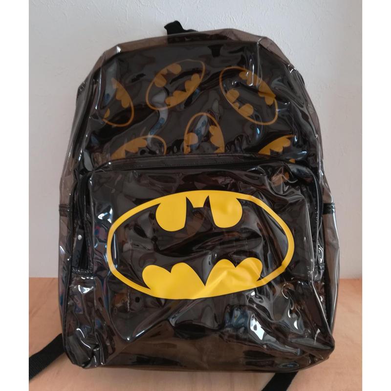 【USA直輸入】DC バットマン ロゴ スケルトン  バックパック リュック DCコミックス