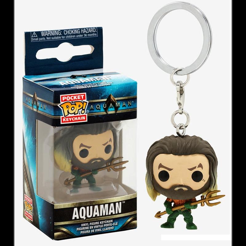 【USA直輸入】ポケットPOP! DC アクアマン キーチェーン キーホルダー FUNKO  DCコミックス Aquaman  ポップ