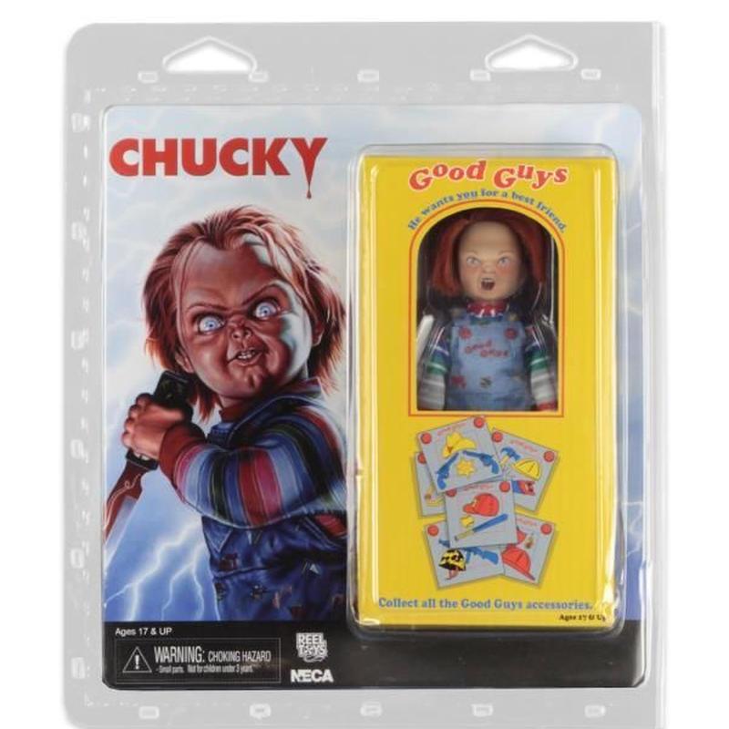 【USA直輸入】チャッキー グッドガイ アクション フィギュア ブリスターパック Child's Play   NECA  Chucky  チャイルドプレイ ドール ホラー