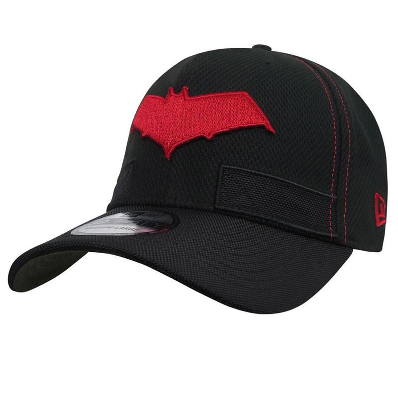 【USA直輸入】限定版 DC レッドフード   ロゴ キャップ 39Thirty Fitted ニューエラ NEWERA ベースボールキャップ 帽子 DCコミックス ロビン バットマン