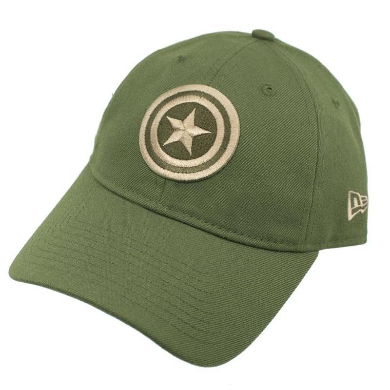 【USA直輸入】MARVEL キャプテンアメリカ Salute To Service  ロゴ 9Twenty キャップ  ニューエラ NEWERA ベースボールキャップ 帽子 マーベル