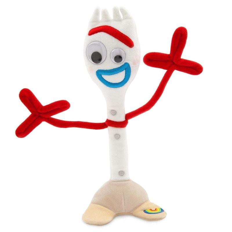 【USA直輸入】DISNEY  トイストーリー フォーキー ぬいぐるみ プラッシュ フィギュア Forky  Toy Story  ディズニー ウッディ バズ トイストーリー4