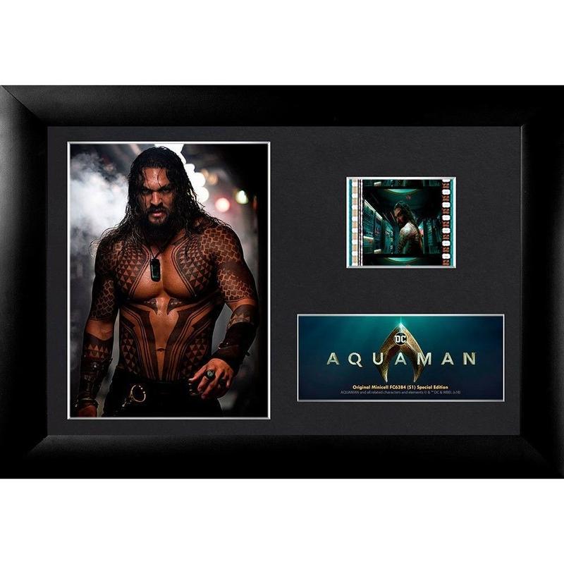 【USA直輸入】Filmcells DC アクアマン ジェイソン モモア Aquaman フィルムセル レーム 映画 実際のフィルム DCコミックス Jason Momoa ジャスティスリーグ