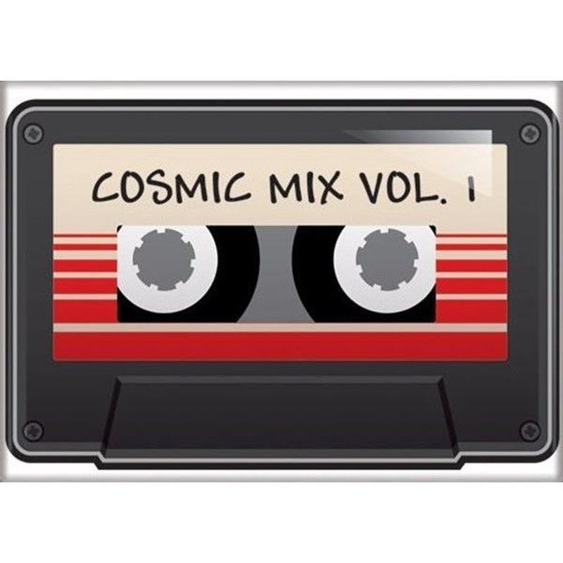【USA直輸入】MARVEL ガーディアンズオブギャラクシー オウサム ミックス  カセットテープ Cosmic Mix Vol 1 マグネット 磁石 ガーディアンズ  GOG マーベル