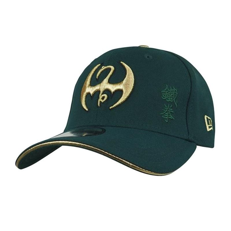 【USA直輸入】MARVEL NEWERA アイアンフィスト キャップ 帽子 ニューエラ 39THIRTY 3930  マーベル   Iron Fist