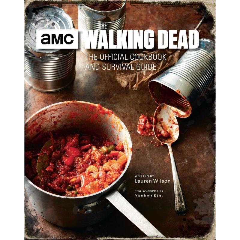 【USA直輸入】 洋書 ウォーキングデッド オフィシャル クックブック サバイバルガイド 料理本 ハードカバー コレクターブック Walking Dead amc