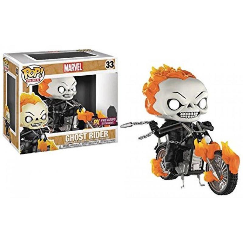 【USA直輸入】POP! Rides MARVEL ゴーストライダー バイク FUNKO ファンコ フィギュア マーベルクラシック Ghost Rider