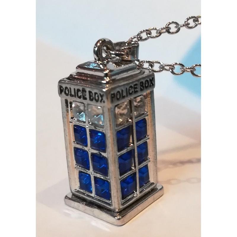 【USA直輸入】ドクターフー ターディス ポリスボックス ネックレス Doctor Who  BBC
