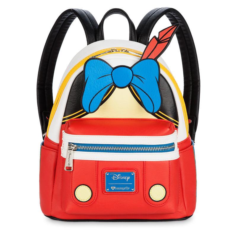 【USA直輸入】DISNEY ピノキオ ミニ バックパック リュック ディズニー ラウンジフライ  Loungefly Pinocchio  バッグ ピノッキオ   ディズニー