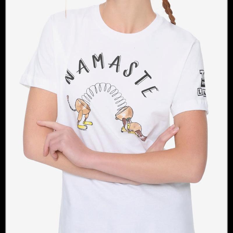 【USA直輸入】DISNEY トイストーリー スリンキードッグ ナマステ Mサイズ  Tシャツ  ボックスランチ限定品 スリンキー ディズニー