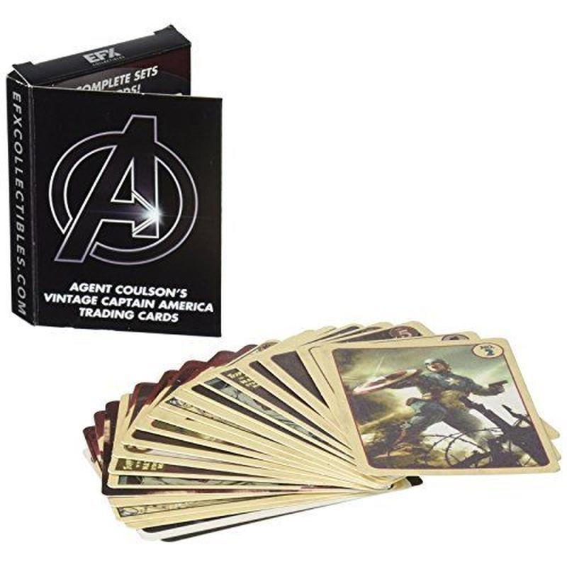 【USA直輸入】MARVEL アベンジャーズ フィル コールソン ビンテージ キャプテンアメリカ トレーディングカード セット マーベル シールド S.H.I.E.L.D.  SHIELD
