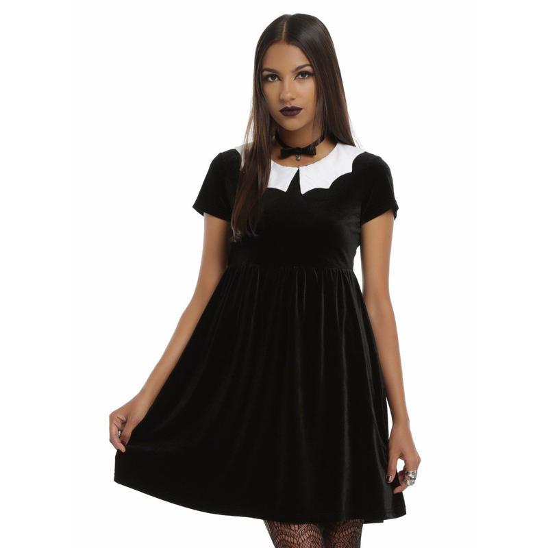 【USA直輸入】アイアンフィスト バット ベルベット ドレス ワンピース Sサイズ