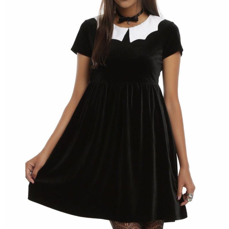 【USA直輸入】アイアンフィスト バット ベルベット ドレス ワンピース