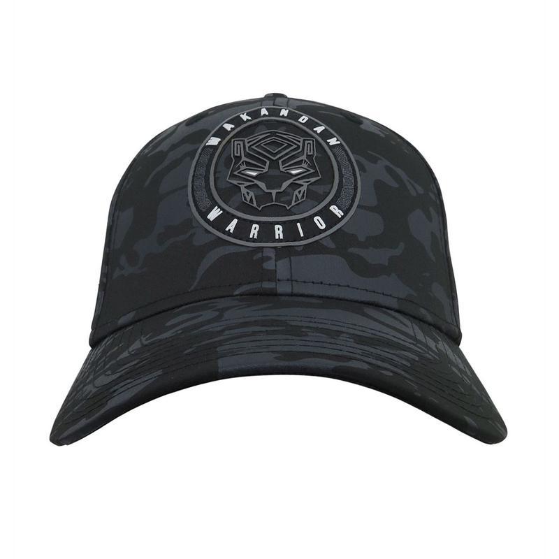 【USA直輸入】MARVEL ブラックパンサー ロゴ キャップ  39Thirty Fitted ニューエラ NEWERA ベースボールキャップ 帽子 マーベル ブラックパンサー