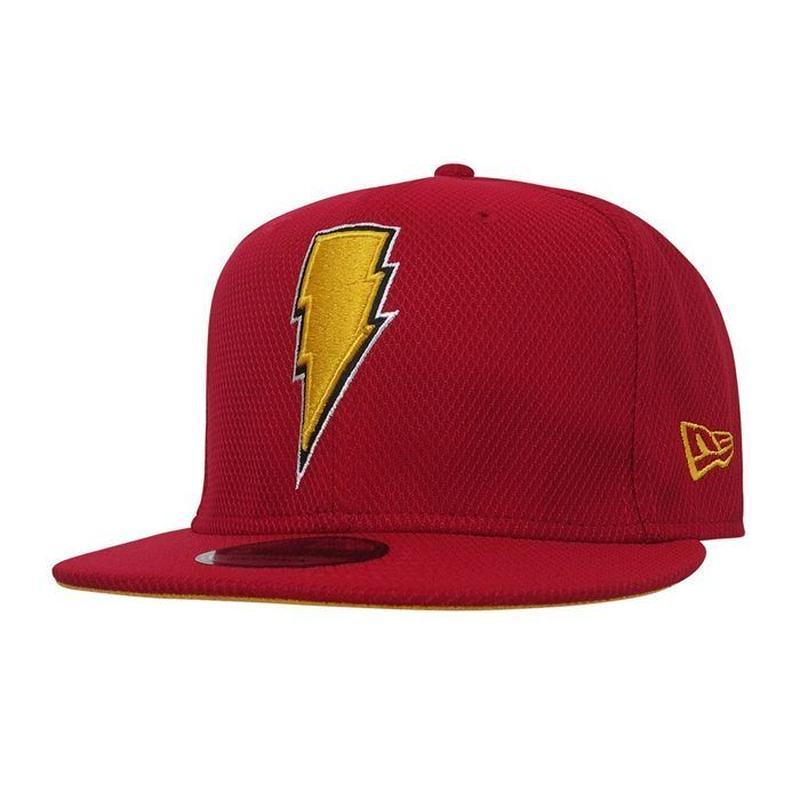 【USA直輸入】DC  シャザム  Shazam シンボル キャップ 9Fifty スナップバック ニューエラ NEWERA ベースボール キャップ 帽子 DCコミックス