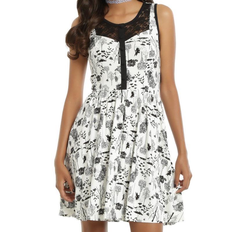 【USA直輸入】DISNEY 不思議の国のアリス オールオーバー ドレス ワンピース ディズニー アリス