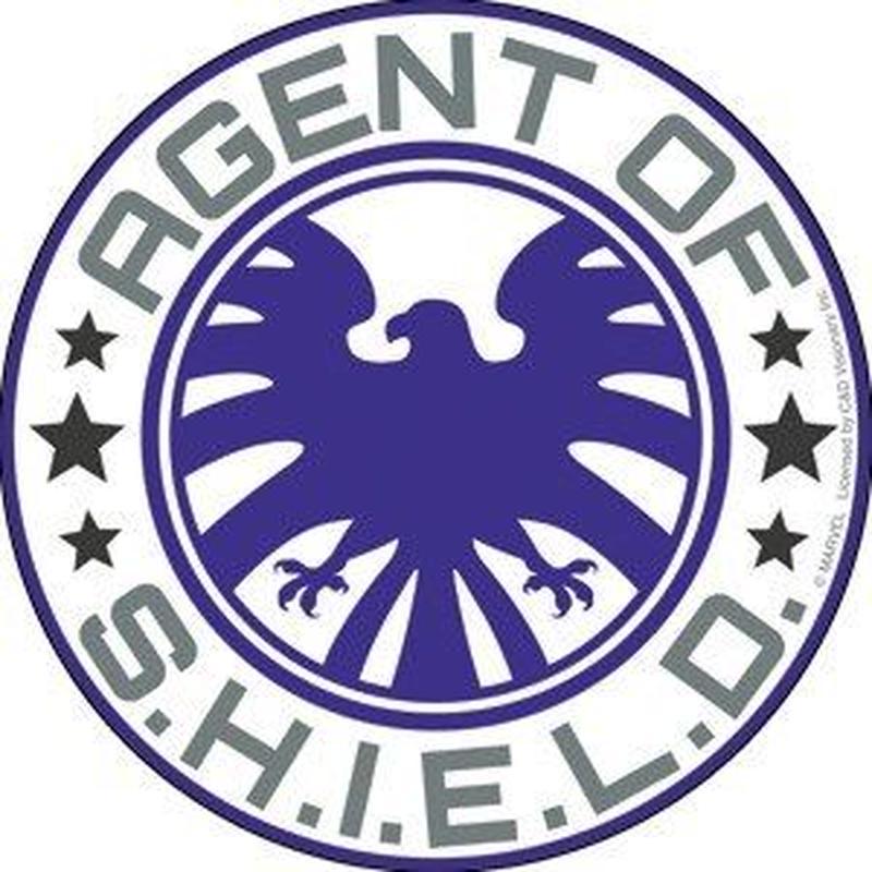 【USA直輸入】MARVEL Agent of SHIELD S.H.I.E.L.D. シールド ロゴ ステッカー マーベル エージェントオブシールド シール