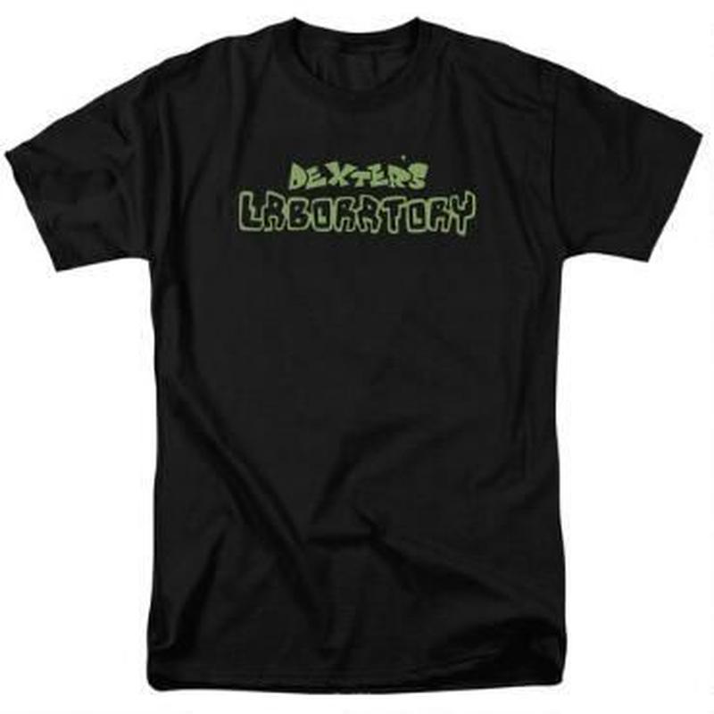 【USA直輸入】デクスターズラボ ロゴ Tシャツ カートゥーン ネットワーク ラボラトリー