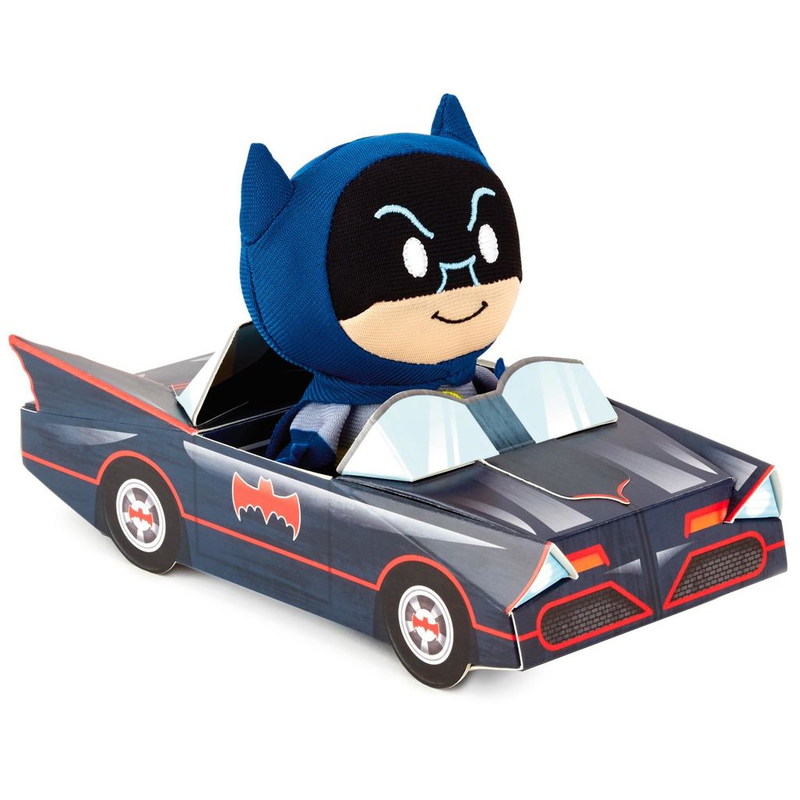 ※ご予約商品です!!【USA直輸入・限定品】DCコミックス バットマン バットモービル ぬいぐるみ ittybittys DC 約10cm hallmark