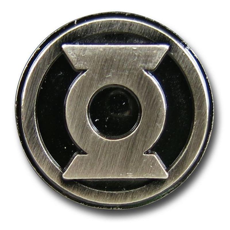 【USA直輸入】DC グリーンランタン ロゴ ピューター ラペル ピン DCコミックス ピンズ ピンバッジ Green Lantern