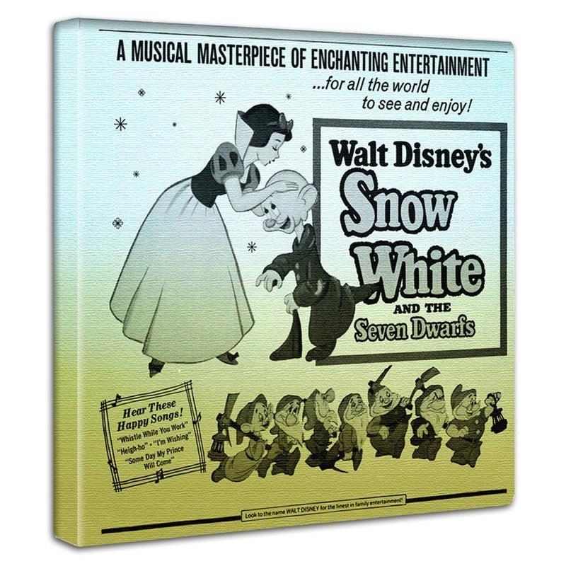 【アートデリ】白雪姫のファブリックボード
