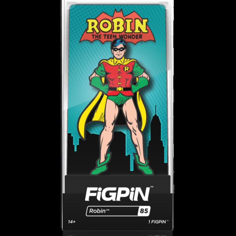 【US直輸入】DCコミックス FigPin クラシック ロビン #85  フィグピン フィギュア DC バットマン ピン ピンズ Batman  Robin