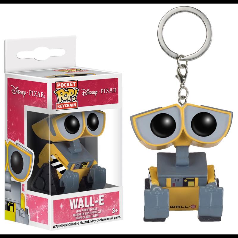 【USA直輸入】ポケットPOP! キーチェーン DISNEY Wall-E ウォーリー キーホルダー FUNKO ディズニー  ファンコ   ピクサー  Pixar