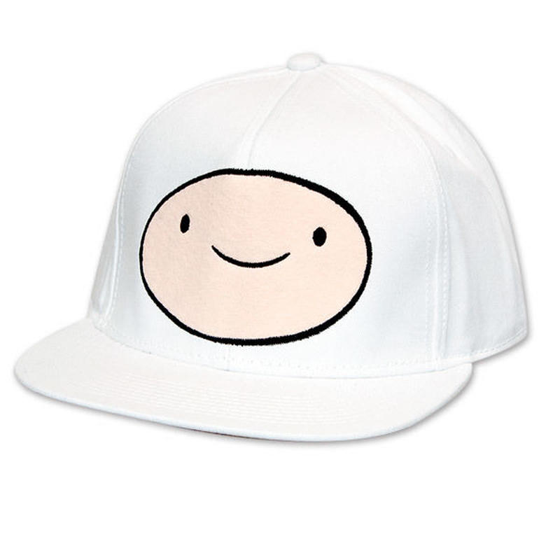 【USA直輸入】アドベンチャータイム フィン FINN 刺繍 キャップ 帽子 ハット Adventure Time ジェイク アドベンチャー タイム カートゥーン ネットワーク