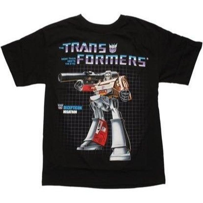 【USA直輸入】トランスフォーマー メガトロン G1 Sサイズ Tシャツ