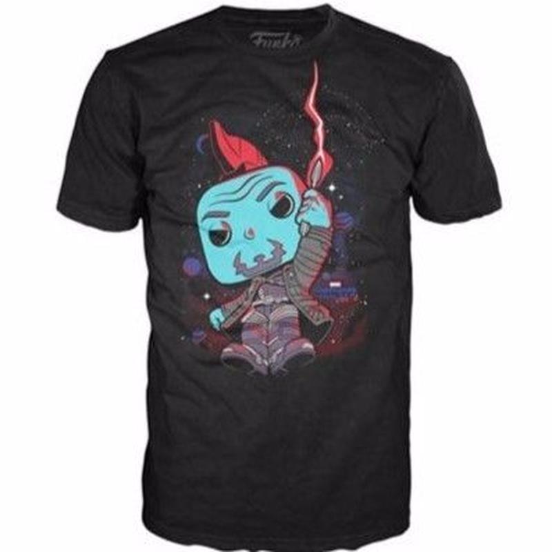 【USA直輸入】MARVEL ガーディアンズオブギャラクシー ヨンドゥ POP メリーポピンズ Tシャツ ガーディアンズ GOTG マーベル アベンジャーズ