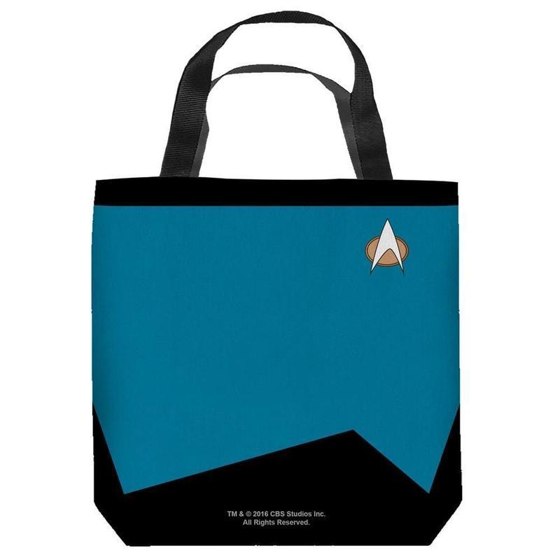 【USA直輸入】スタートレック 科学部門 青色 サイエンス 制服 トートバッグ スタトレ  Star Trek ロゴ バック SCIENCES バッグ