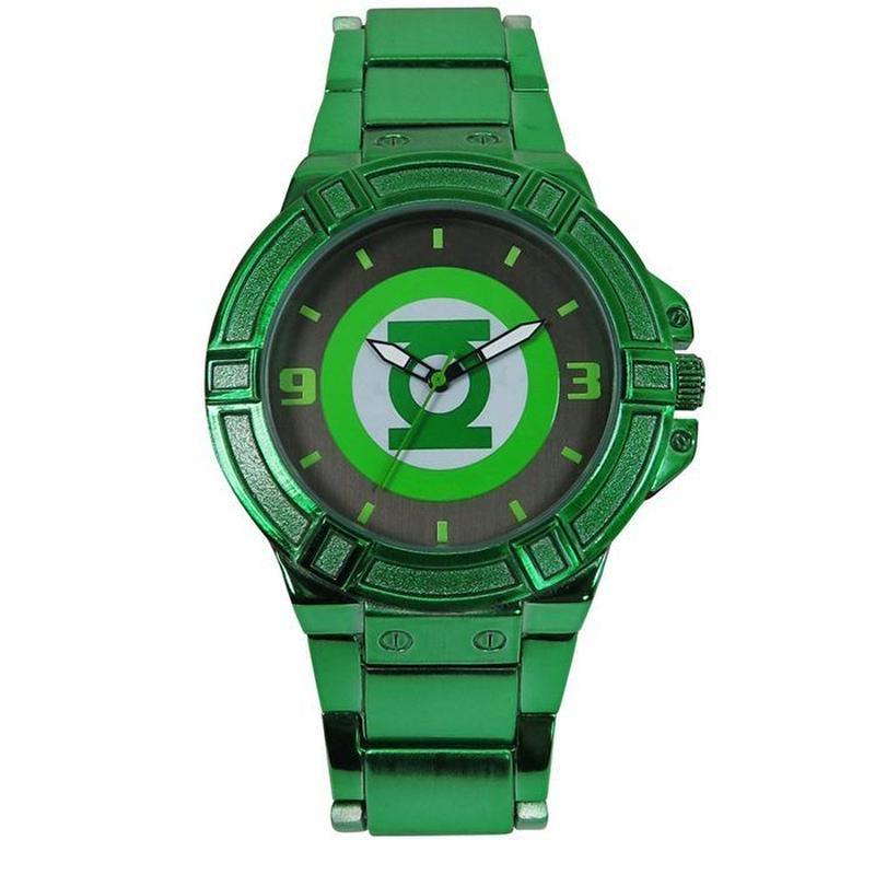 【USA直輸入】DCコミックス グリーンランタン シンボル リストウォッチ 腕時計 ロゴ 正規ライセンス DC グリーン ランタン Green Lantern